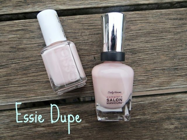 Essie Fiji Sally Hansen Shell We Dance Comparison