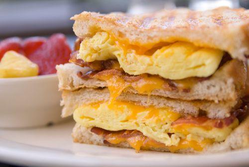 Scrambled Egg Toasted Sandwich