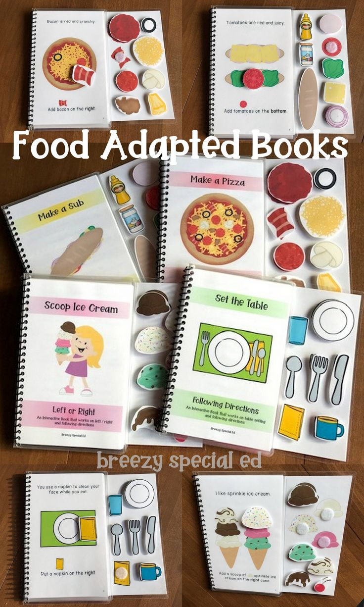 Meals Tailored Books Following Instructions (Left / Proper and Extra) for Particular Ed