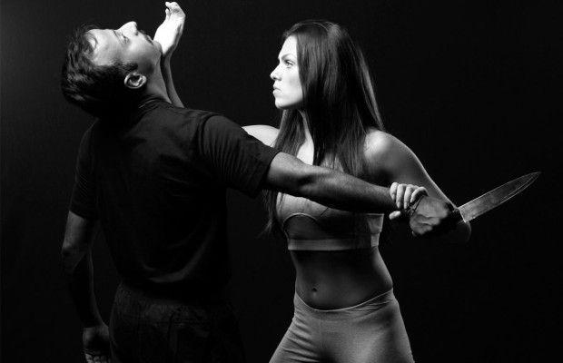 Aulas de defesa pessoal para mulheres