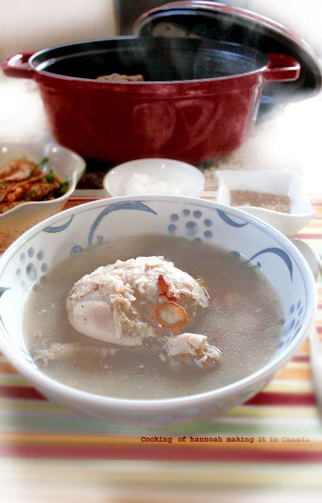 夏の疲れにぜひ! 韓国の鍋料理 参鶏湯(サムゲタン)