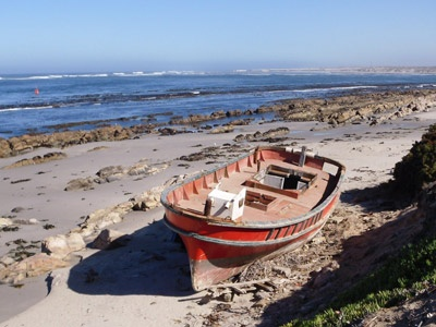 Port Nolloth on the West Coast, Namaqualand, South Africa