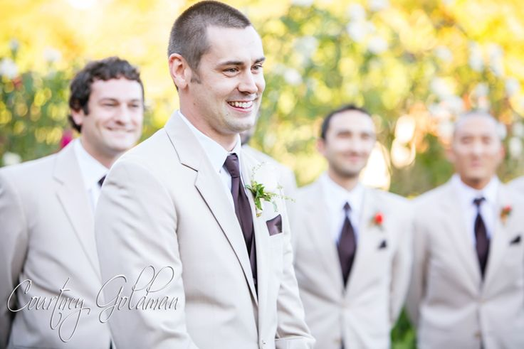 Erin and Collin's Wedding Ceremony in the Rose Garden at The ...