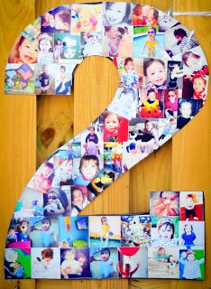 Make a one out of all Ezra's pictures! Love this idea.