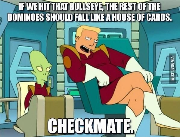 "One of Zapp Brannigan's best quote in ""Futurama"""