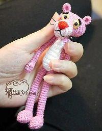 Free Amigurumi Patterns: Pink Panther