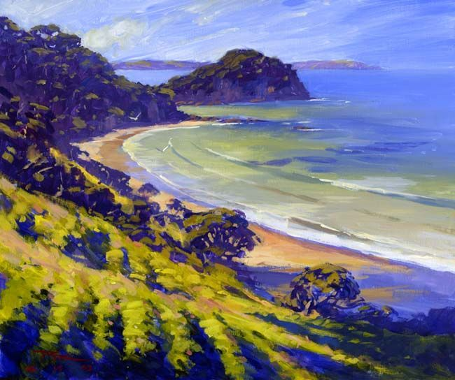 Richard Robinson Gallery - Impressionist Landscape Oil Paintings, DVD Lessons, Learn How to Paint. #OilPaintingWater
