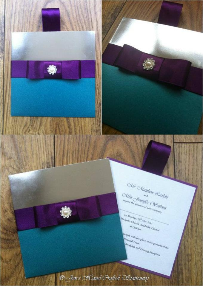 box wedding invitations online%0A My perfect invitations  Invitations  Jen u    s Hand Crafted Stationery