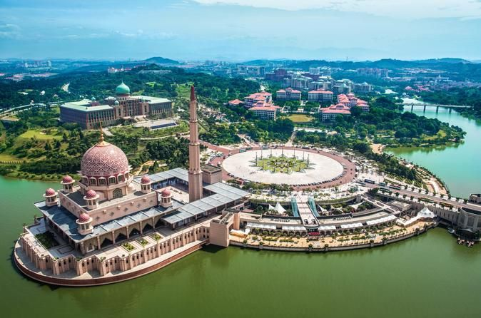 Half-Day Putrajaya and Agricultural Park Tour from Kuala Lumpur Explore the fascinating city of Putrajaya, Malaysia's administrative center that's spread over 11,000 acres. Enjoy the beauty of Putrajaya Lake on a cruise(own expenses), see the Pink Mosque and the Prime Minister's office, and visit the Agricultural Heritage Park.Your driver or guide will pick you up at your selected hotel in Kuala Lumpur or Malaysia tourism center (MATIC) and take you by a comfortable coach to P...