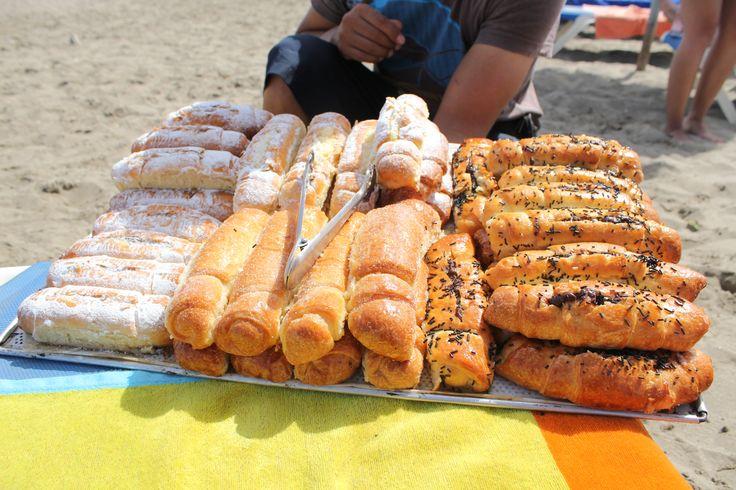 zoete broodjes op het strand PUERTA BLANCA