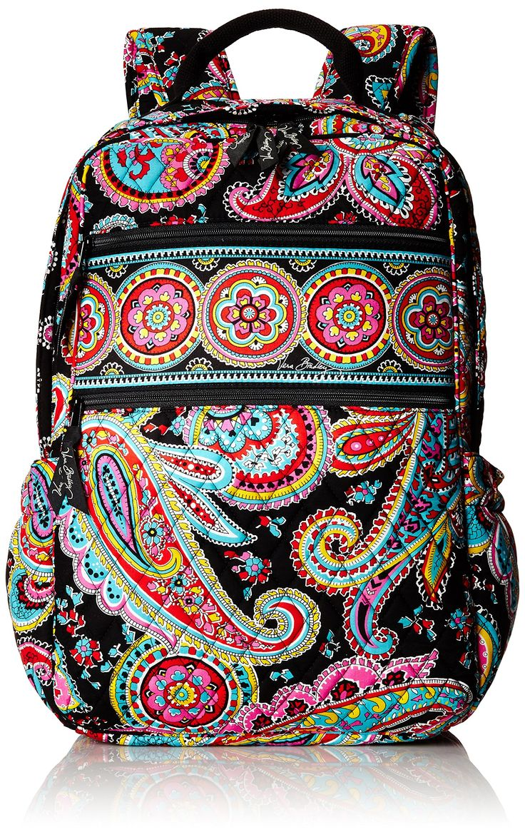 Vera Bradley Tech Backpack Shoulder Handbag, Parisian Paisley, One Size