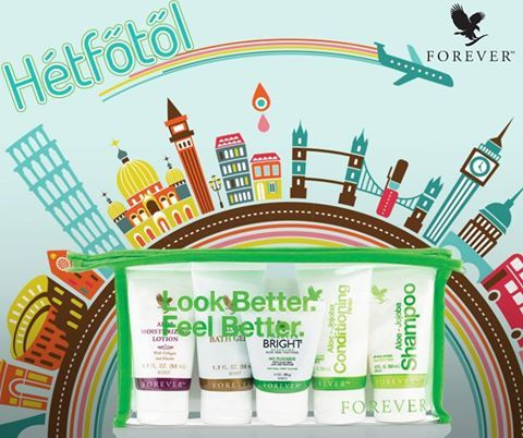 Look better and feel better with Forever.