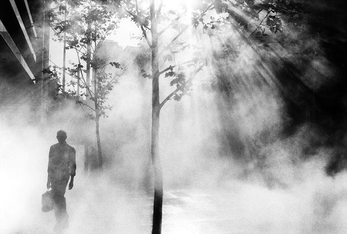 Photographer: Trent Parke (Untitled // Cat6, 2001) ~ He emerges from the strain of light however not as a being, but as a construct, not entirely real. Fantastic composition and subject matter. I intend to steal this to the best of my ability.