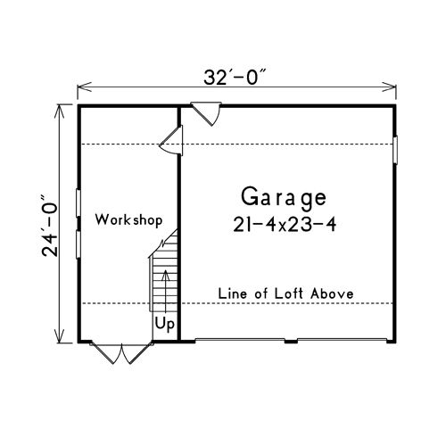 Detached garage floor plans free woodworking projects Free garage blueprints