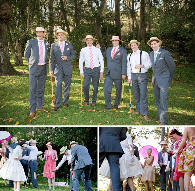 Real Wedding: Tina + Tim's French Provincial Garden Party Wedding