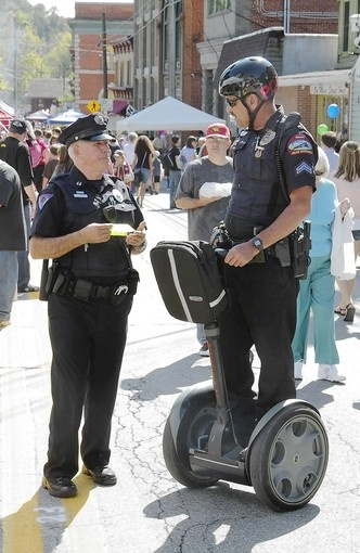 Sykesville police say Segways will promote community contact