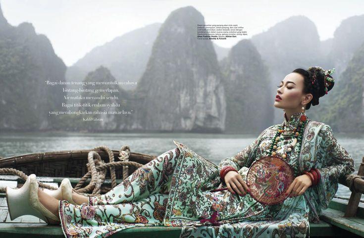 Dara Warganegara by  Nicoline Patricia Malina for Harper's Bazaar Indonesia Anniversary issue