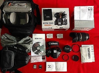 Canon eos 550D+TAMRON SP AF17-50mm F2,8 XR Di 2 VC+Canon 50mm Kit