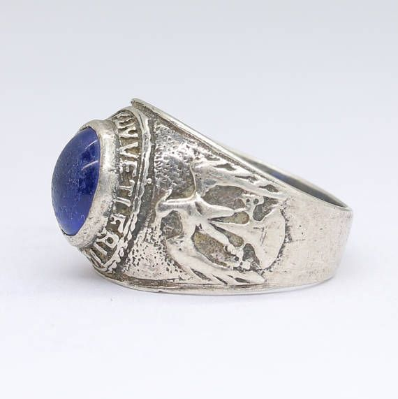 Antique Turkish air force officer ring air force jewelry