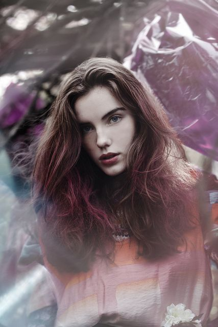 watercolor dreams closeup by Lauren Withrow