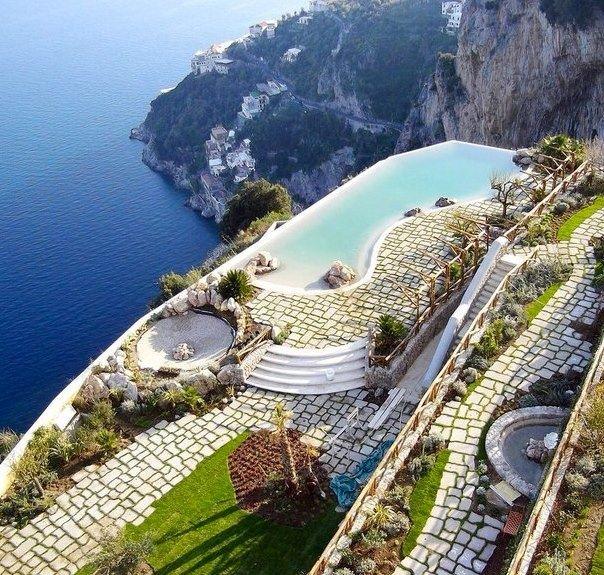 Monastero Santa Rosa Hotel  Spa, Amalfi Coast, Italy