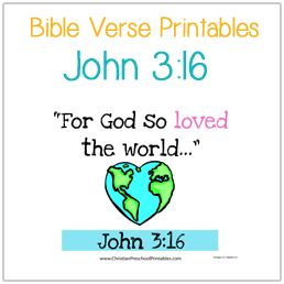 Bible Verse Printables With Multiple Options For Each