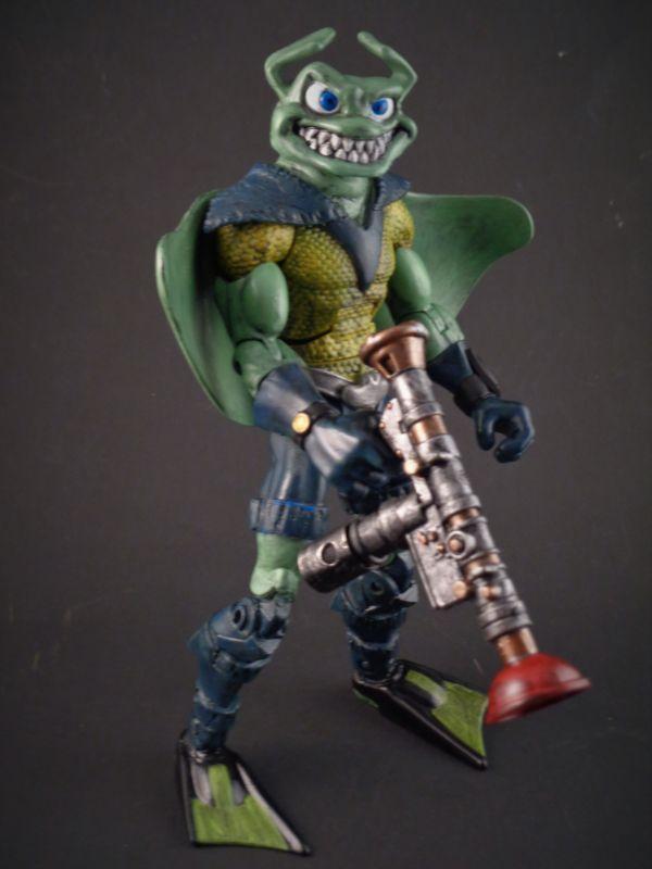 Ray Fillet (Teenage Mutant Ninja Turtles) Custom Action Figure