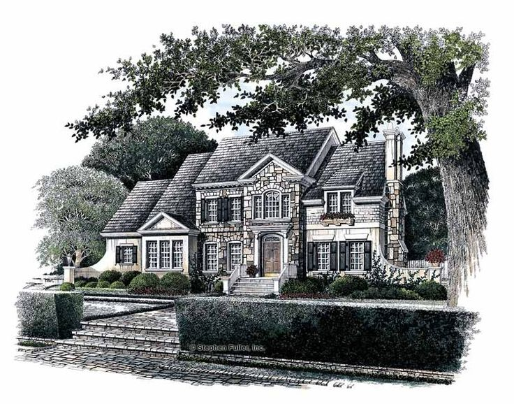 Colonial House Plan With 3227 Square Feet And 5 Bedrooms From Dream Home  Source | House Plan Code DHSW42443 Obsessed | Dream House | Pinterest |  Colonial ...