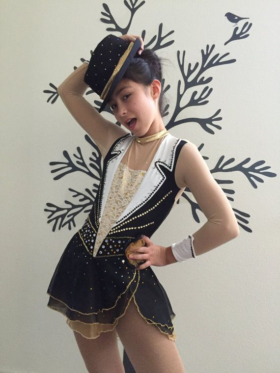 Custom Figure Skating Competition Dress Uptown by StitchPizzazz