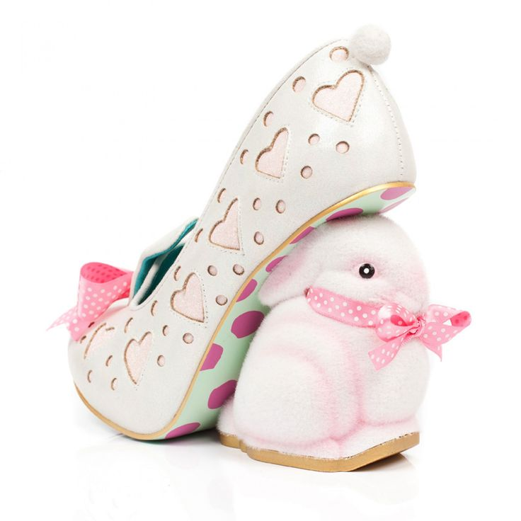 Hop Along... accidentally vegan Irregular Choice bunny heels!