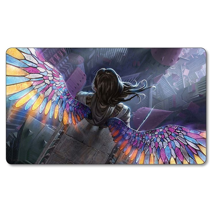 Angelart  Angel Wings Playmats Magic Game the gathering Board Games Playmat,mtg big Mouse Pad,mtg cards play mat #Affiliate