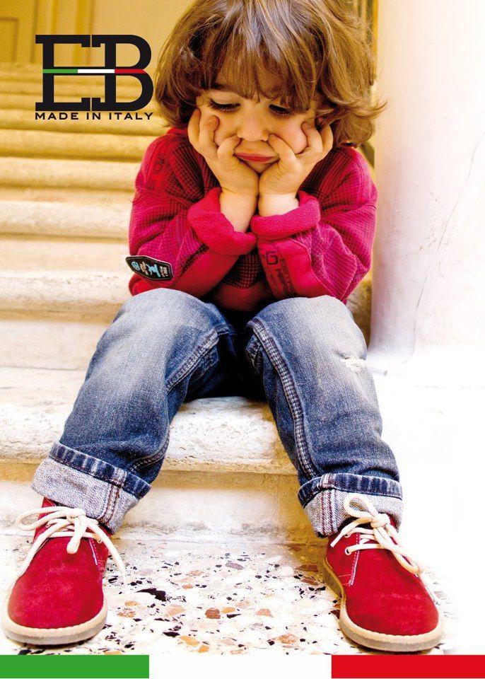 """La calzatura EB SHOES nasce con un obiettivo chiaro: il benessere del vostro #bambino! Definita la """"#ScarpaSincera"""" propone un rapporto qualità / prezzo di facile riconoscibilità che la rende unica!"""