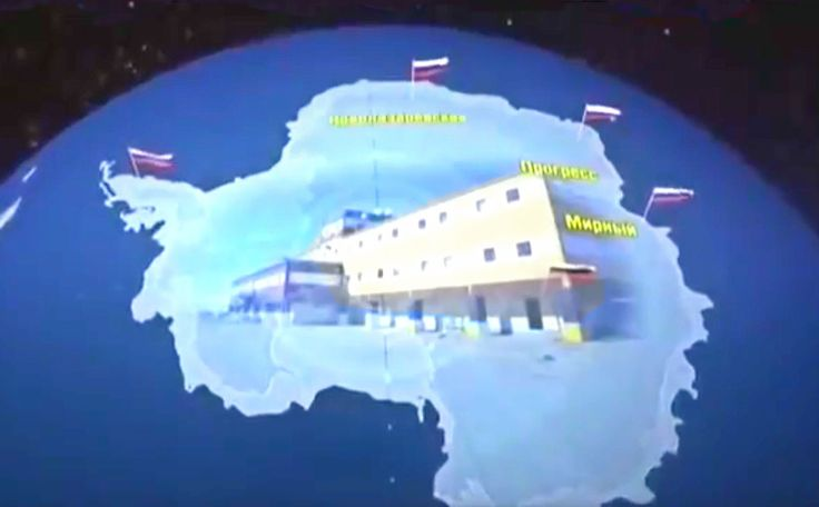 Как Русские живут в Антарктиде! Дух захватывает!