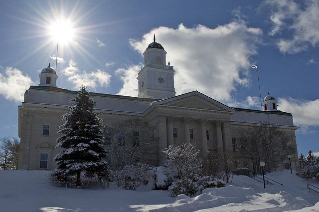 Canada also has some beautiful University Halls to call their own!  Acadia University [University Hall], Wolfville, Nova Scotia, Canada