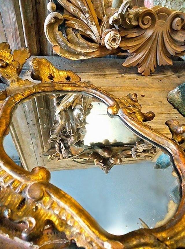 Gorgeous, vintage mirror~❥