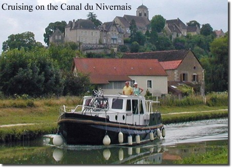 Cruising on the Canal du Nivernais