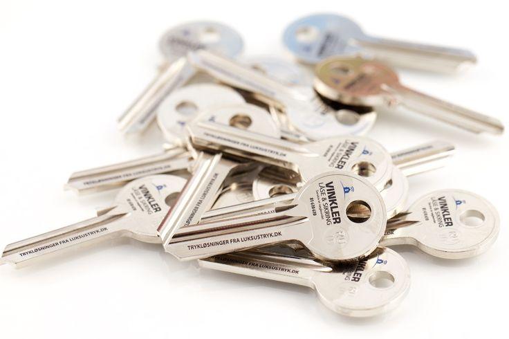 Tryk på nøgler - Luksus Tryk ApS