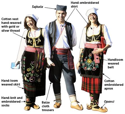 Traditional Serbian Costumes