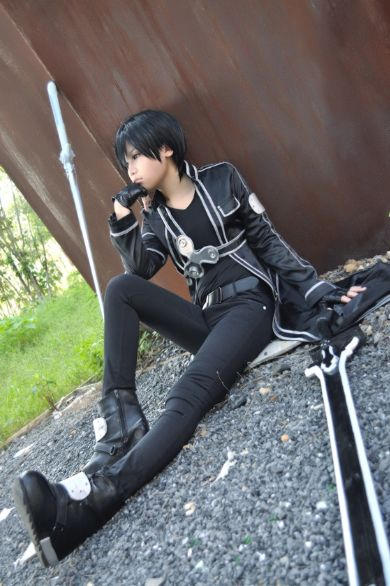 Kirito Cosplay | Geeky and Anime things. (^.^) | Pinterest