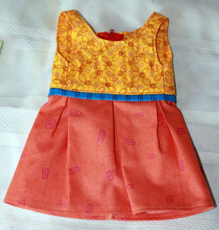 Pleated Tulip Doll Dress