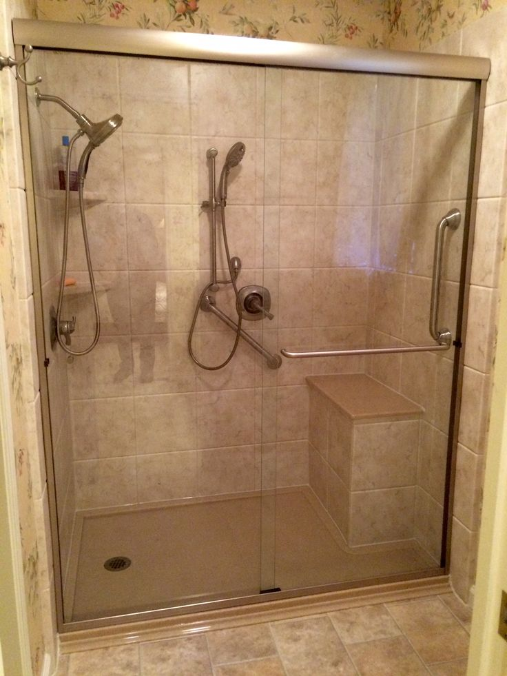 28 best Walk-in Shower with Bench Seat images on Pinterest | Bench ...