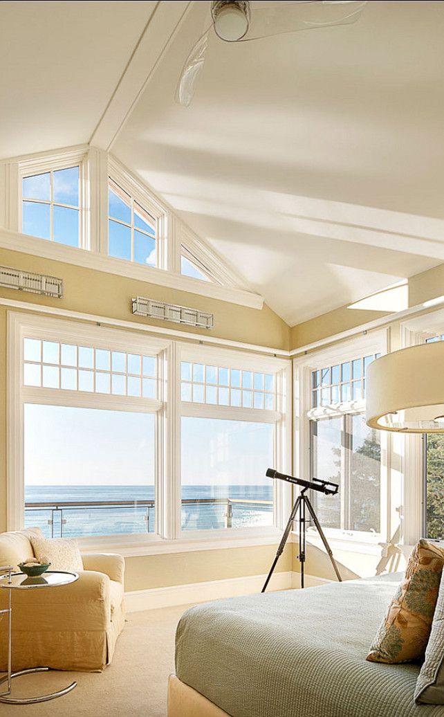 BEDROOM – Guest bedroom – Can you imagine waking up here? Coastal Bedroom Design