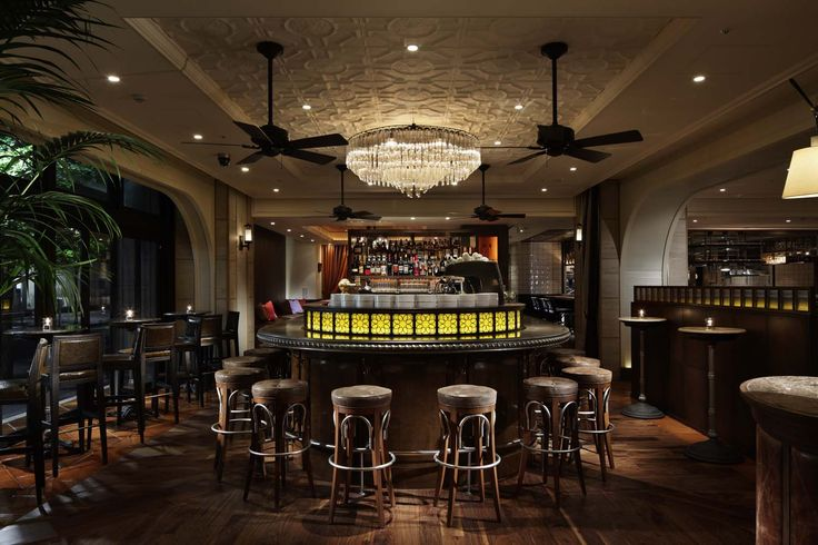 Our zinc bar top in the 6th by Oriental Hotel in Tokyo, Japan!