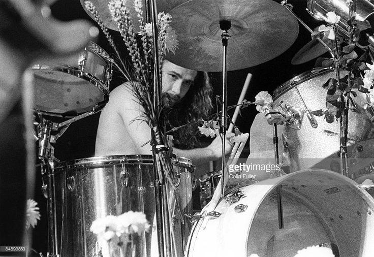FESTIVAL Photo of BLACK SABBATH and Bill WARD, Drummer Bill Ward performing on stage