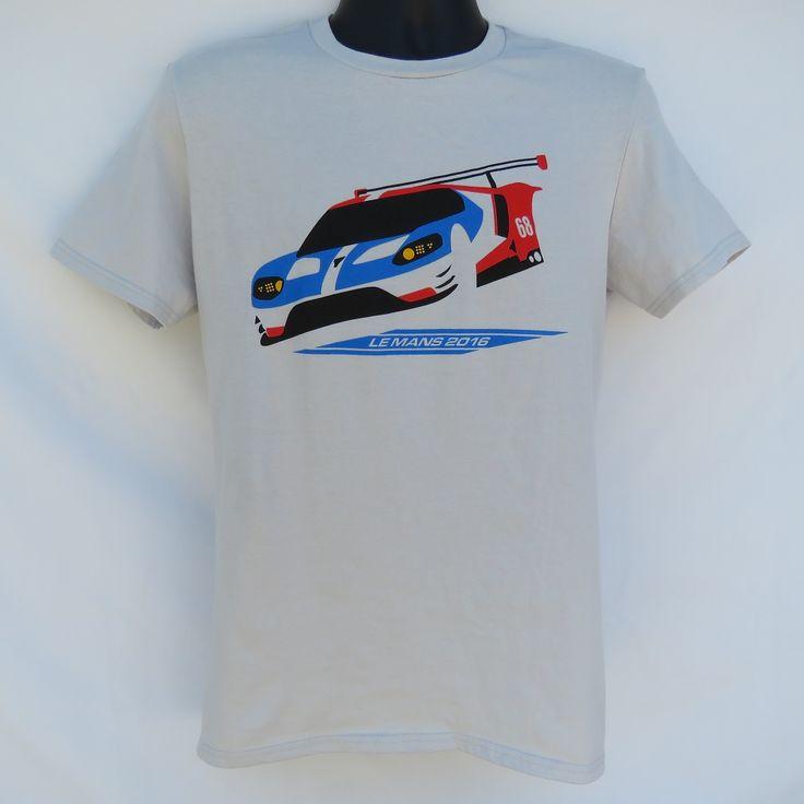Ford GT LM 2016 Le Mans 24 Hours GTE-Pro class race winner T-shirt