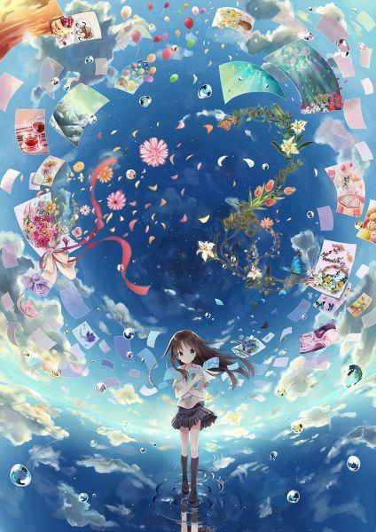 Anime girl=o=