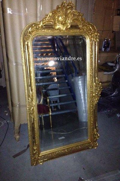 Otros Barroco : Espejo barroco pan de oro