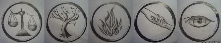 Faction Symbols - Divergent by Katty133.deviantart.com on @deviantART