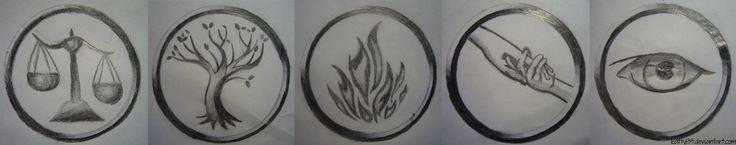Faction Symbols - Divergent by Katty133.deviantart.com on @deviantART