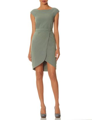 Tulip Skirt Sheath Dress in Sage Green #TheLimited #ScandalStyleTheLimited #OliviaPope #ItsHandled #W2W #WearToWork